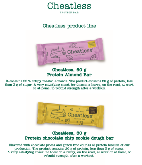 Newon Food protein bar